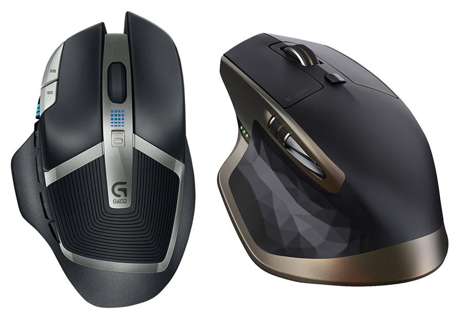 Logitech G602 vs MX Master - Muoses com