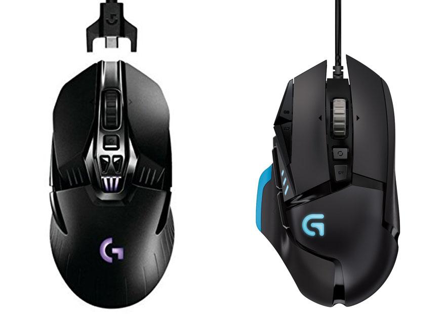 Logitech G900 vs G502 - Muoses com