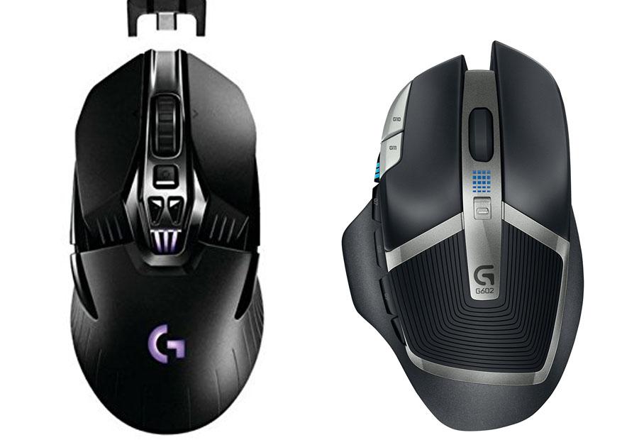 Logitech G900 vs G602 - Muoses com