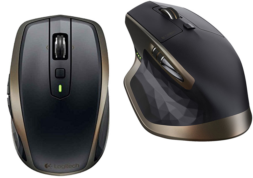 Logitech MX Anywhere 2 vs MX Master - Muoses com